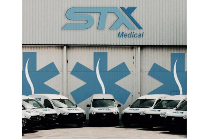 STX Medical aumenta su flota con 30 vehículos más adaptados a temperatura controlada+15º C/+25º C