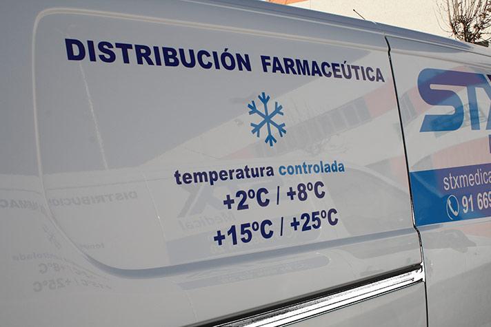 Servicio de transporte de medicamentos a temperatura ambiente