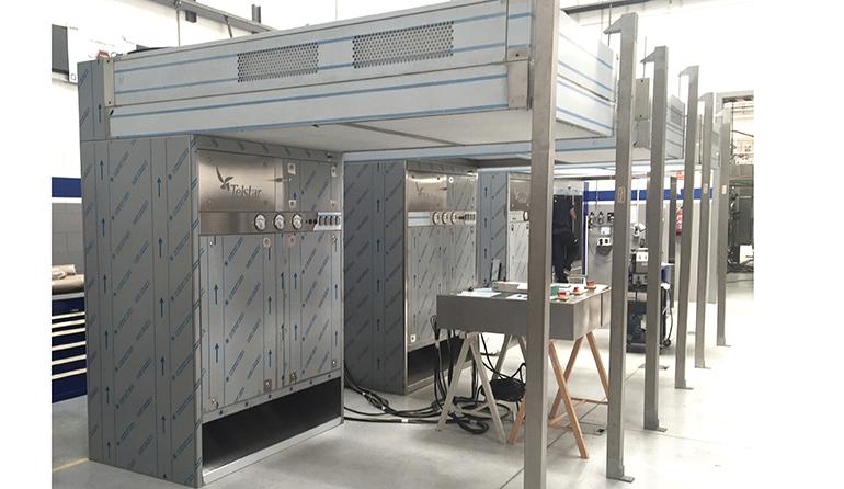 Nueva versión estándar de cabinas de pesada modulares