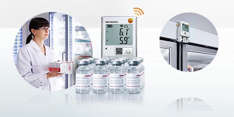 Registradores de temperatura durante el almacenamiento de medicamentos sensibles