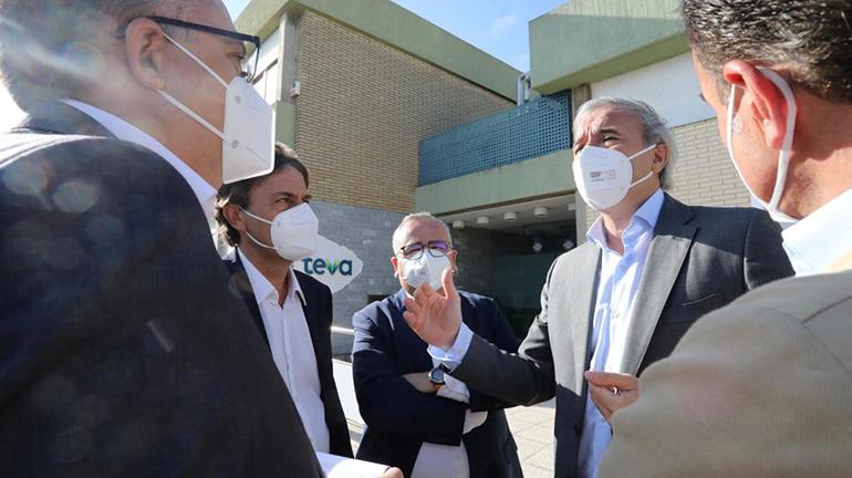 Teva invertirá 40 millones de euros hasta 2025 en su planta de Zaragoza