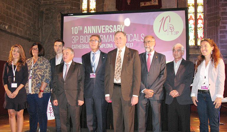 3P Biopharmaceuticals celebra su 10º aniversario en la Catedral de Pamplona