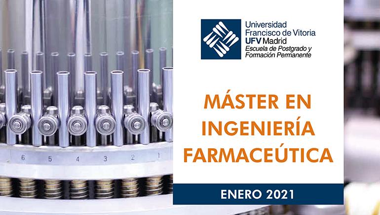 La UFV y Net-Pharma preparan un máster en ingeniería farmacéutica