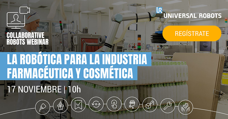 Universal Robots muestra mañana las ventajas de la robótica para la industria farmacéutica y cosmética