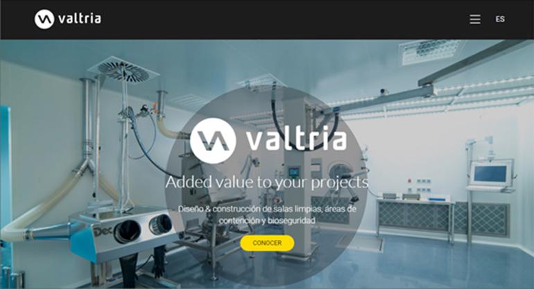 Valtria estrena nueva web