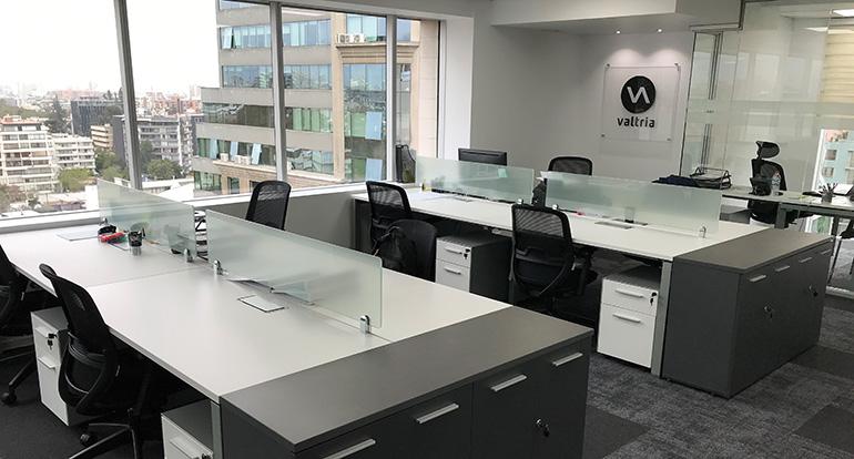 Valtria Chile se traslada a unas nuevas oficinas