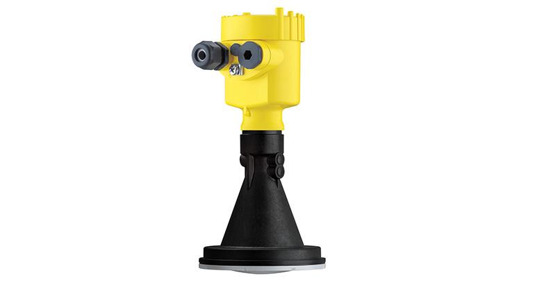 Los sensores radar son capaces de medir de forma fiable a través de las mirillas de los reactores